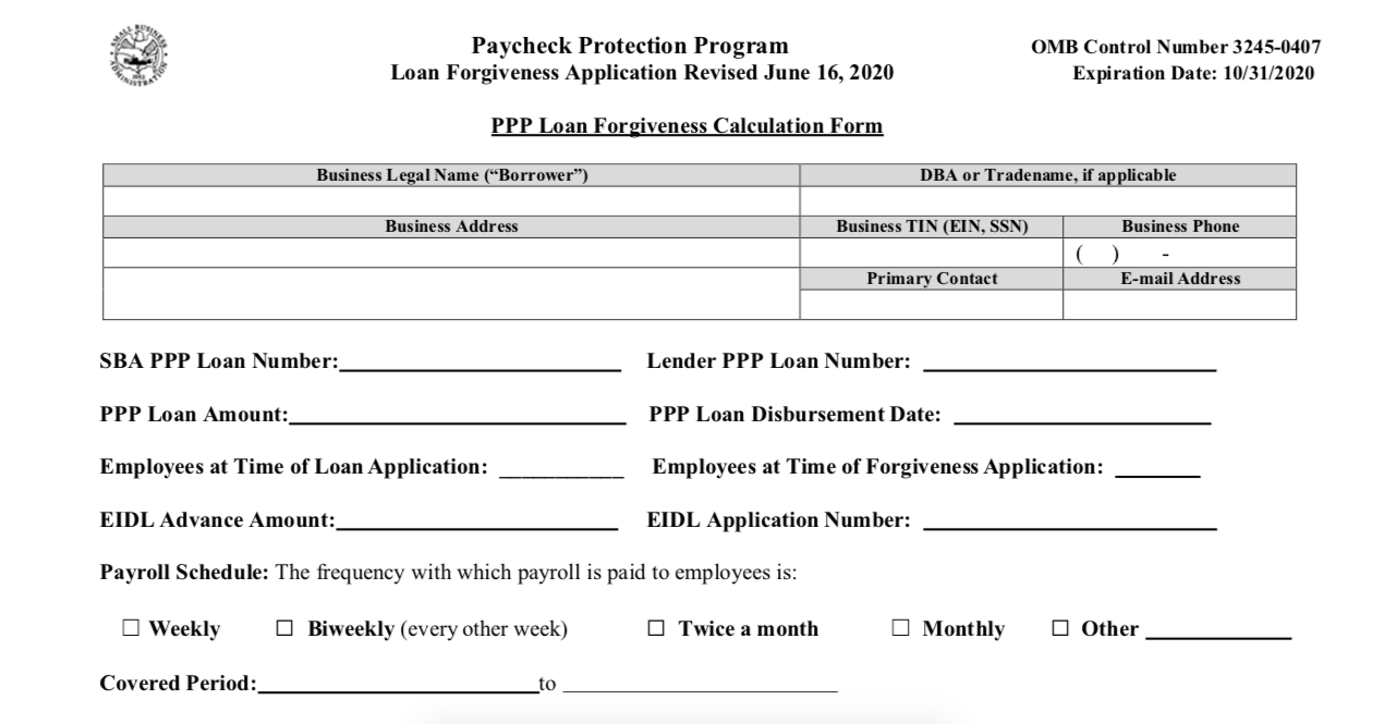 PPP Loan Forgiveness - Everything You Need to Know - BNC Tax